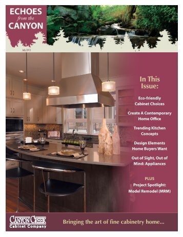 July - Canyon Creek Cabinet Company