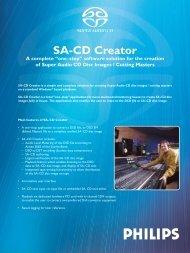 SA-CD Creator - Studio General
