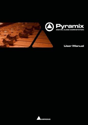 Pyramix 7.1 User Manual.pdf - Studio General