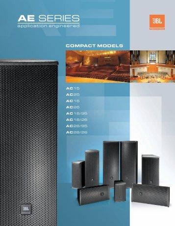 Brochure - JBL Professional