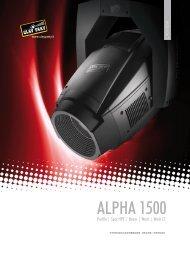 Alpha 1500 系列 - ACE