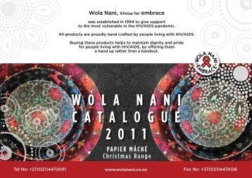 Paper Mache Christmas - Wola Nani