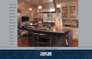 Millennia Door Collection - Canyon Creek Cabinet Company