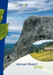 Annual Report 2005 - ECNC