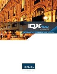 Networked Audio CommuNiCAtioN SyStemS - IDX - Harman