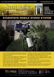 STUDIOTECH MOBILE STUDIO SYSTEM