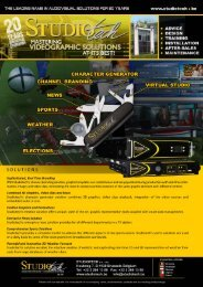 Studiotech Videographic Solutions