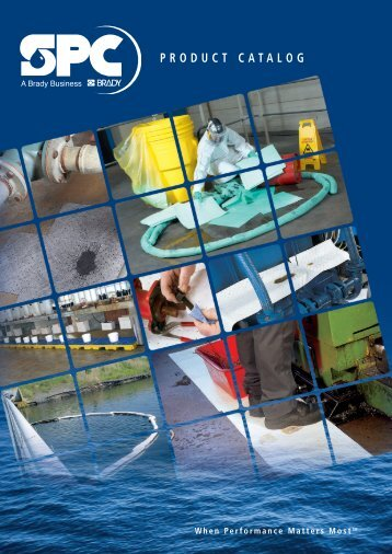 SPC products catalog
