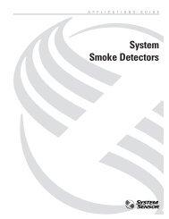 System Smoke Detectors - System Sensor Canada