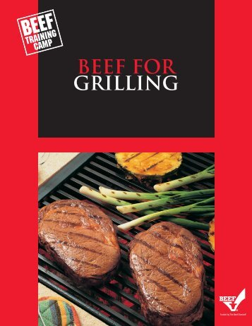 Beef for grilling - BeefRetail.org