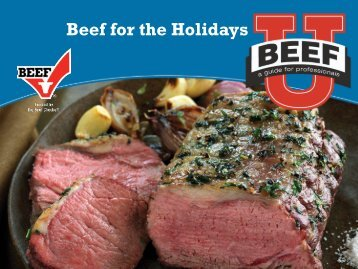 Beef for the Holidays - BeefRetail.org