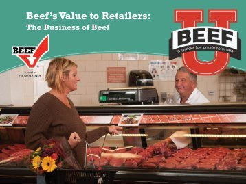 Beef's Value to Retailers: - BeefRetail.org