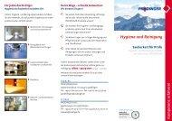 Hygiene und Reinigung Sauberkeit für Profis - PRODINGER OHG