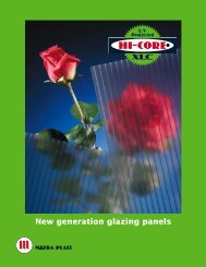 Hi-Core® XLC Glazing and Construction Panels - Matra Plast ...