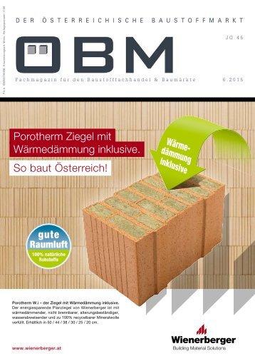 porotherm magazine. Black Bedroom Furniture Sets. Home Design Ideas