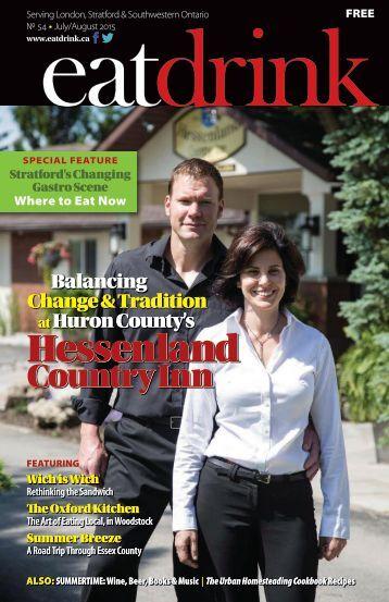 Eatdrink Issue #54 July/August 2015