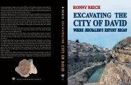 Jerusalem—City Of David - Israel Exploration Society