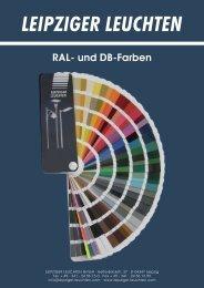 Ral- u. DB-Farben-deu.indd - Leipziger Leuchten