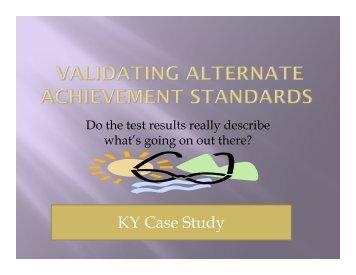 KY Case Study - NAAC