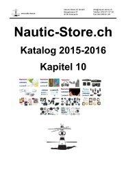 Nautic-Store.ch Bootszubehör Katalog Kapitel 10
