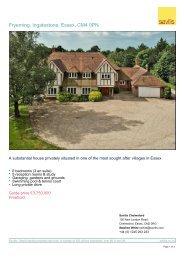 Print property summary - Savills UK | Farms and estates for sale