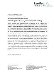 PM LemTec Innova EasyTop Leichte XL - Dörfer/Partner