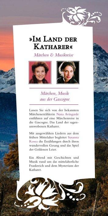 Märchen und Liederabend - Chiron-Praxis & Seminarzentrum