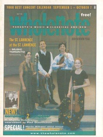 Volume 7 Issue 1 - September 2001