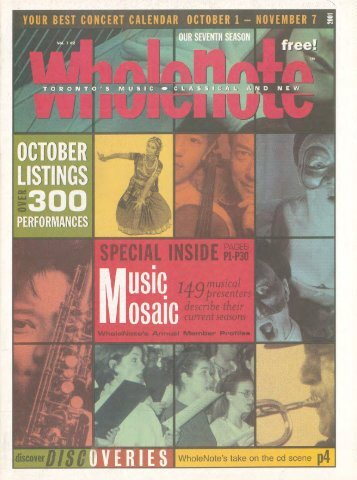 Volume 7 Issue 2 - October 2001