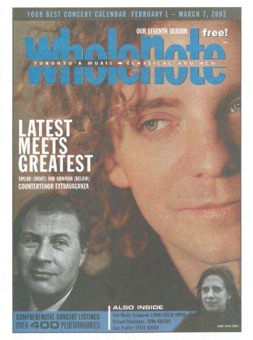 Volume 7 Issue 5 - February 2002