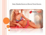 Enjoy Mumbai Escorts at Shweta Tiwari Escorts
