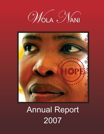 Annual report.cdr - Wola Nani