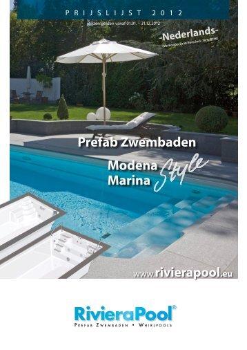 Prefab Zwembaden Modena Marina - Groenstudio