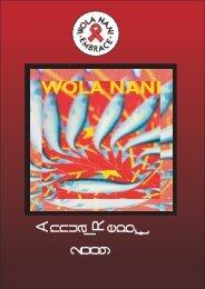 Wola Nani Annual Report 2009