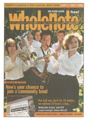 Volume 8 Issue 1 - September 2002