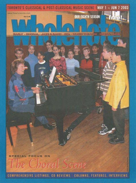 Volume 8 Issue 8 May 2003