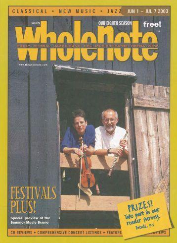 Volume 8 Issue 9 - June 2003