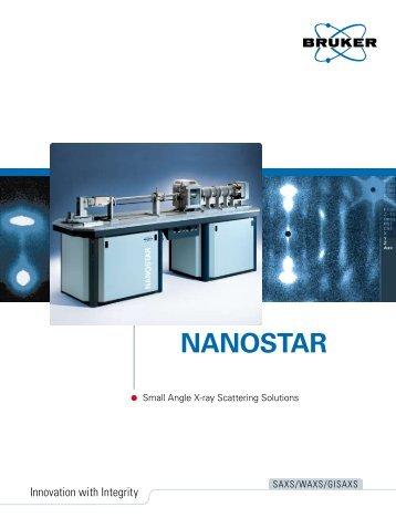NANOSTAR – Small Angle X-ray Scattering Solutions - Bruker