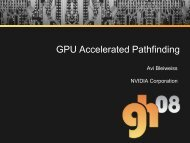 GPU Accelerated Pathfinding - Graphics Hardware