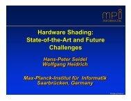 Slides [2.37 MB-pdf] - Graphics Hardware