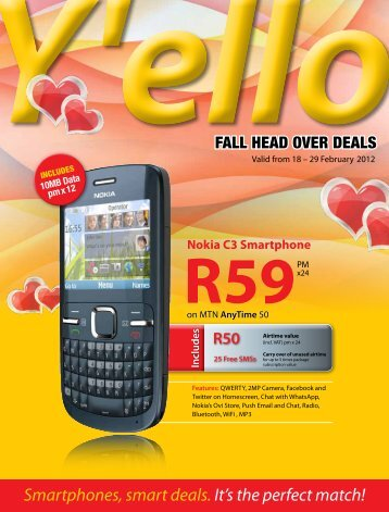 Includes - mtndeals.co.za