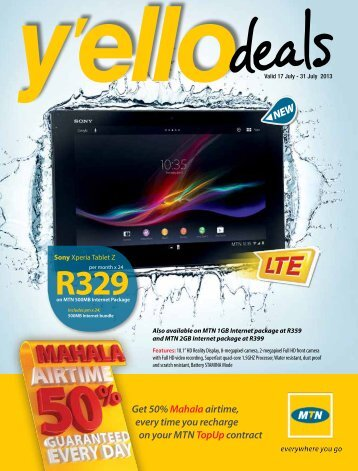 YelloTrader July 2013b.pdf - mtndeals.co.za