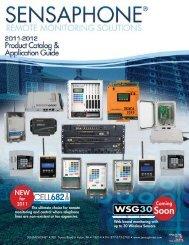 SENSAPHONE® Catalog - Badger Communications