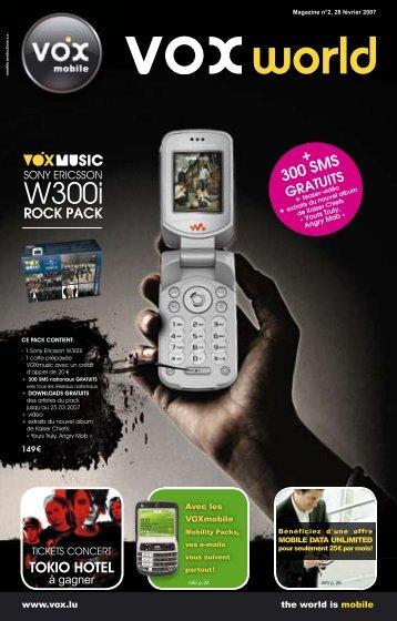 + 300 SMS - Orange Luxembourg
