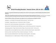 British Breeding Breeders - British Equestrian Federation