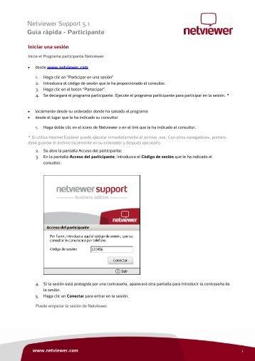 Guía rápida para Netviewer