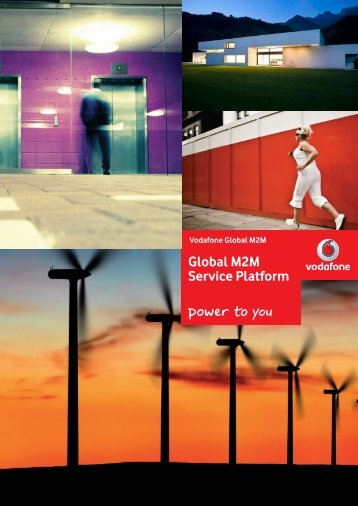 Global M2M Service Platform - Vodacom