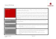 downloadable VPN brochure - Vodacom