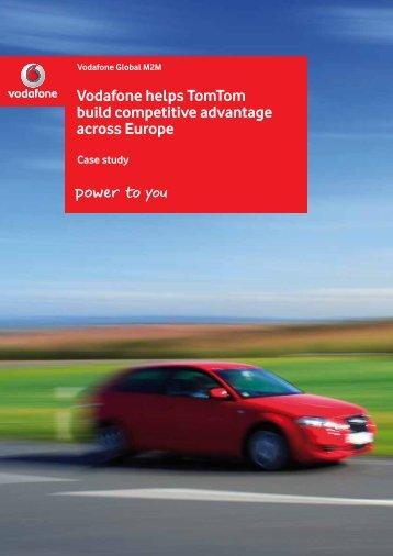 Vodafone helps TomTom build competitive advantage ... - Vodacom