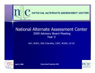 Advisory board year V - NAAC